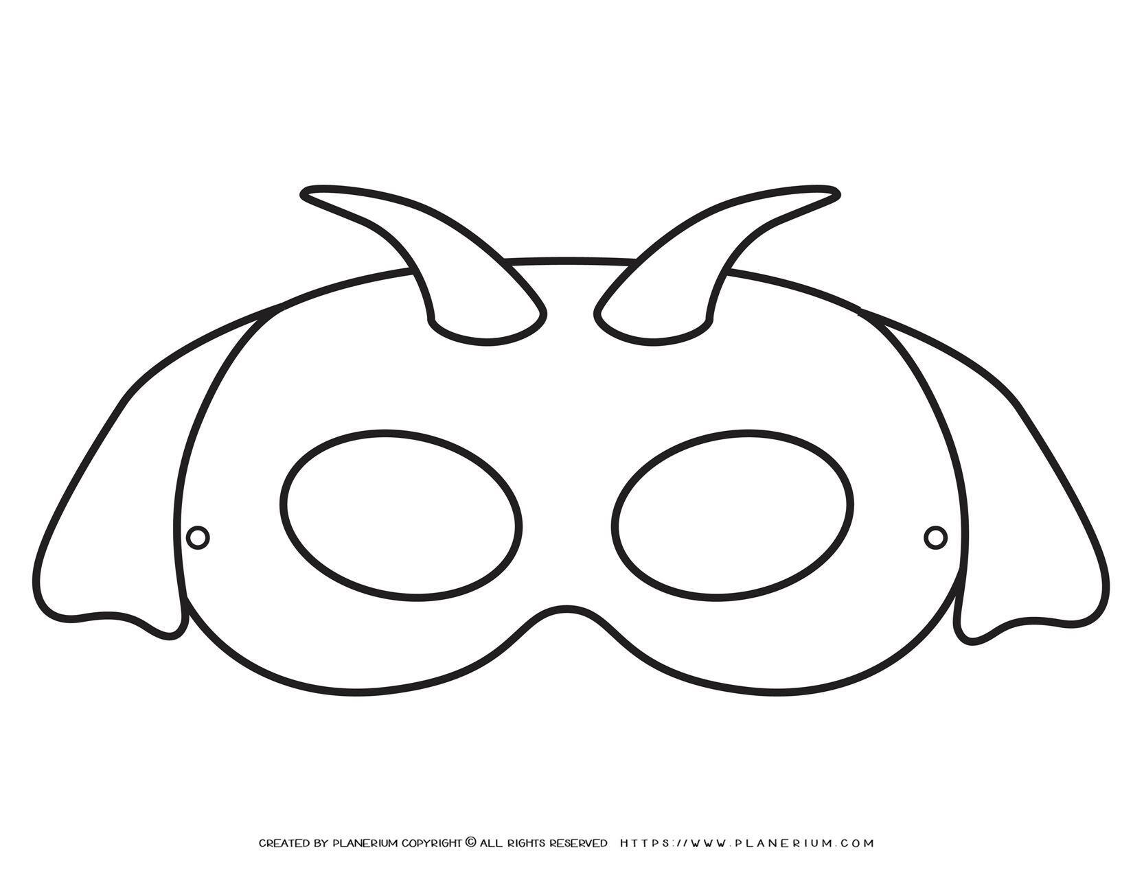 Animal Masks - Goat Eye Mask   Planerium
