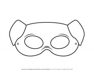 Animal Masks - Pig Eye Mask   Planerium