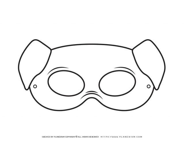 Animal Masks - Pig Eye Mask | Planerium
