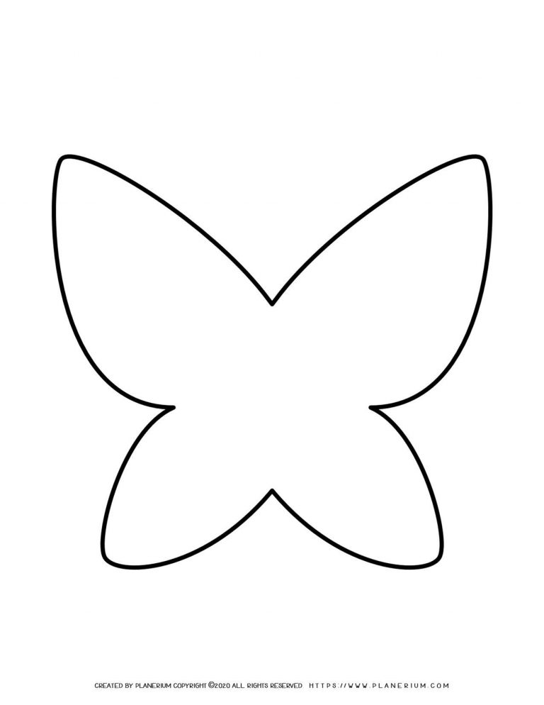 Butterfly Outline | Planerium