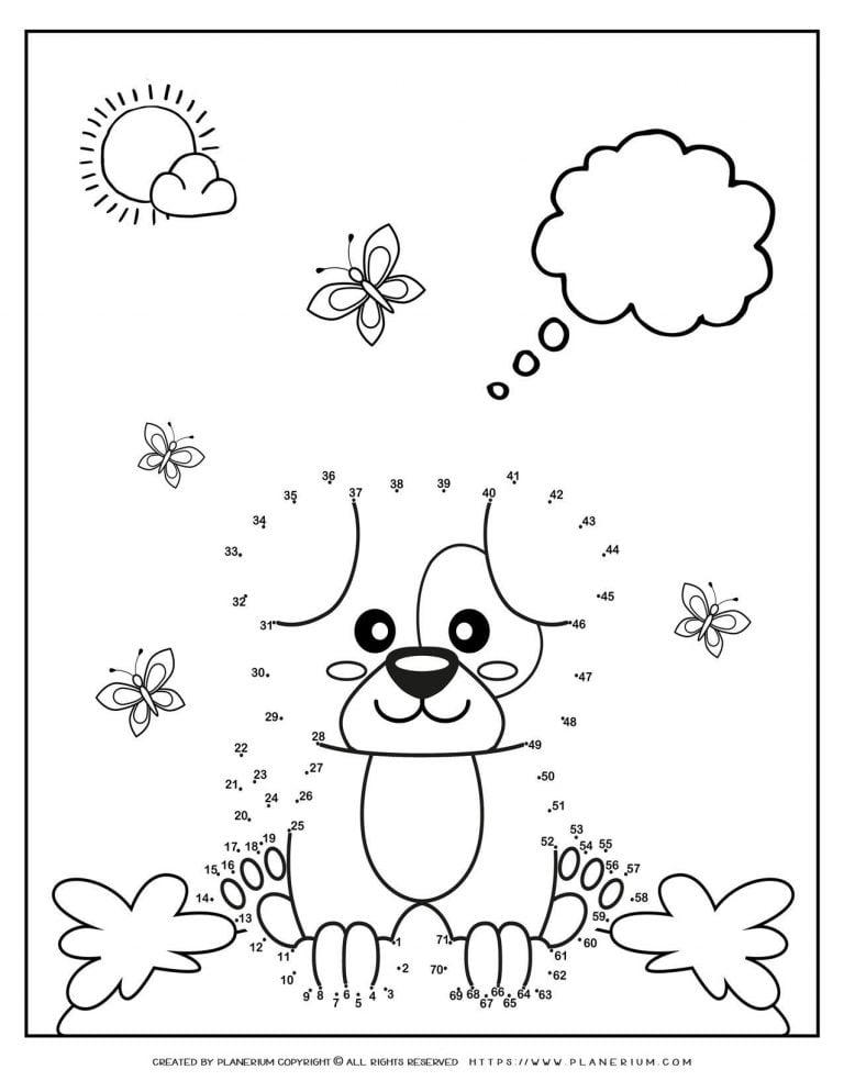 Connect The Dots - Puppy | Planerium