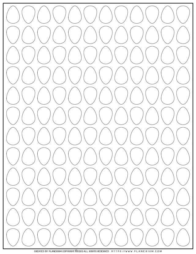 Eggs Pattern | Planerium