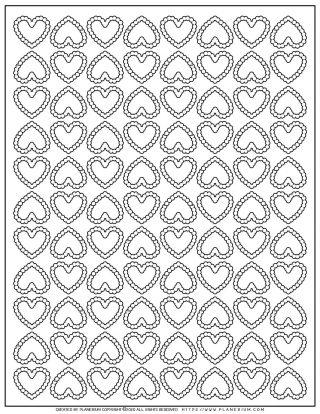 Heart Pattern | Planerium