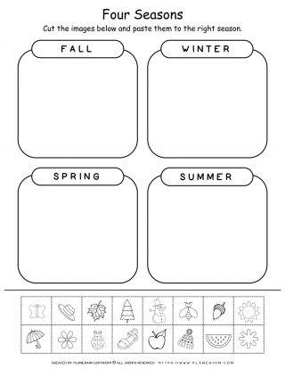 Matching Pictures - Four Seasons | Planerium