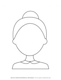 Old Woman Face Outline | Planerium