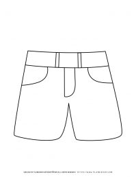 Short Pants Outline | Planerium