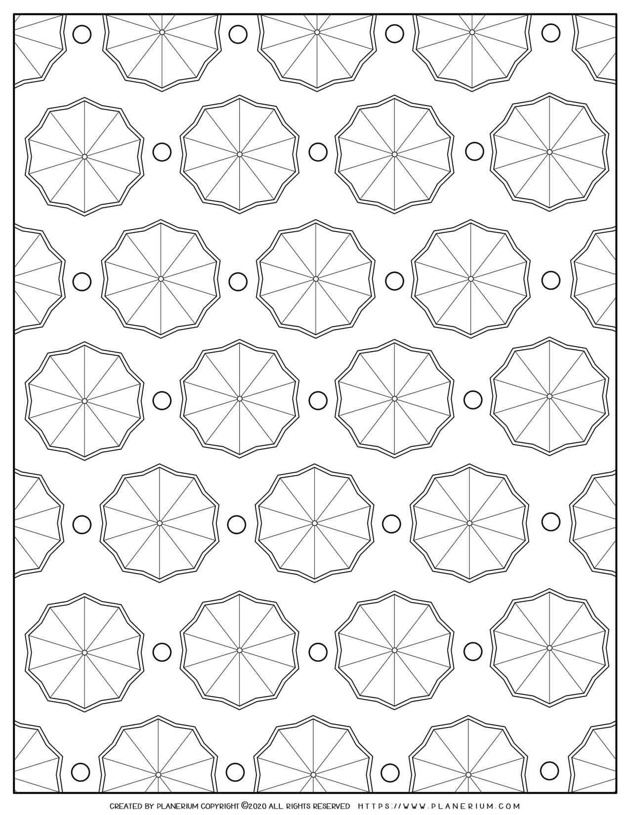 Umbrella Pattern   Planerium