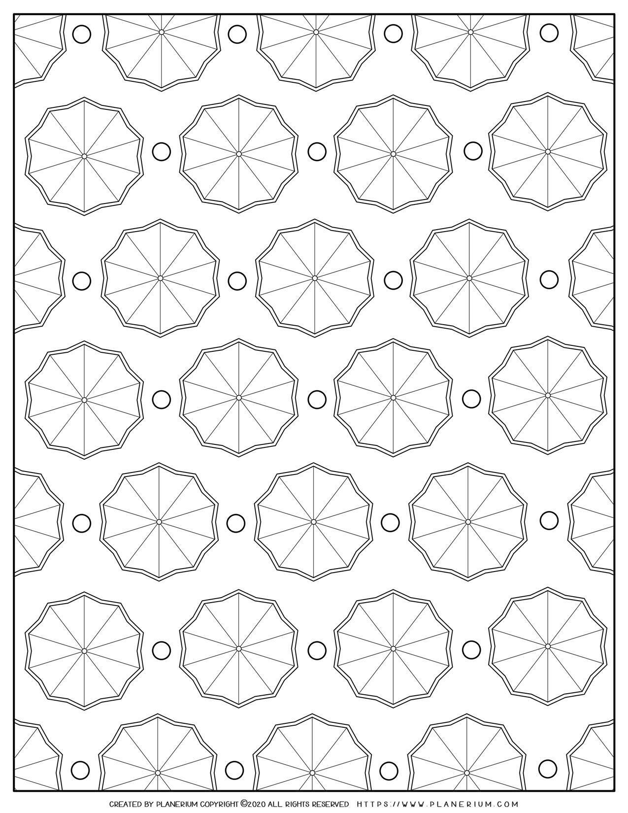 Umbrella Pattern | Planerium
