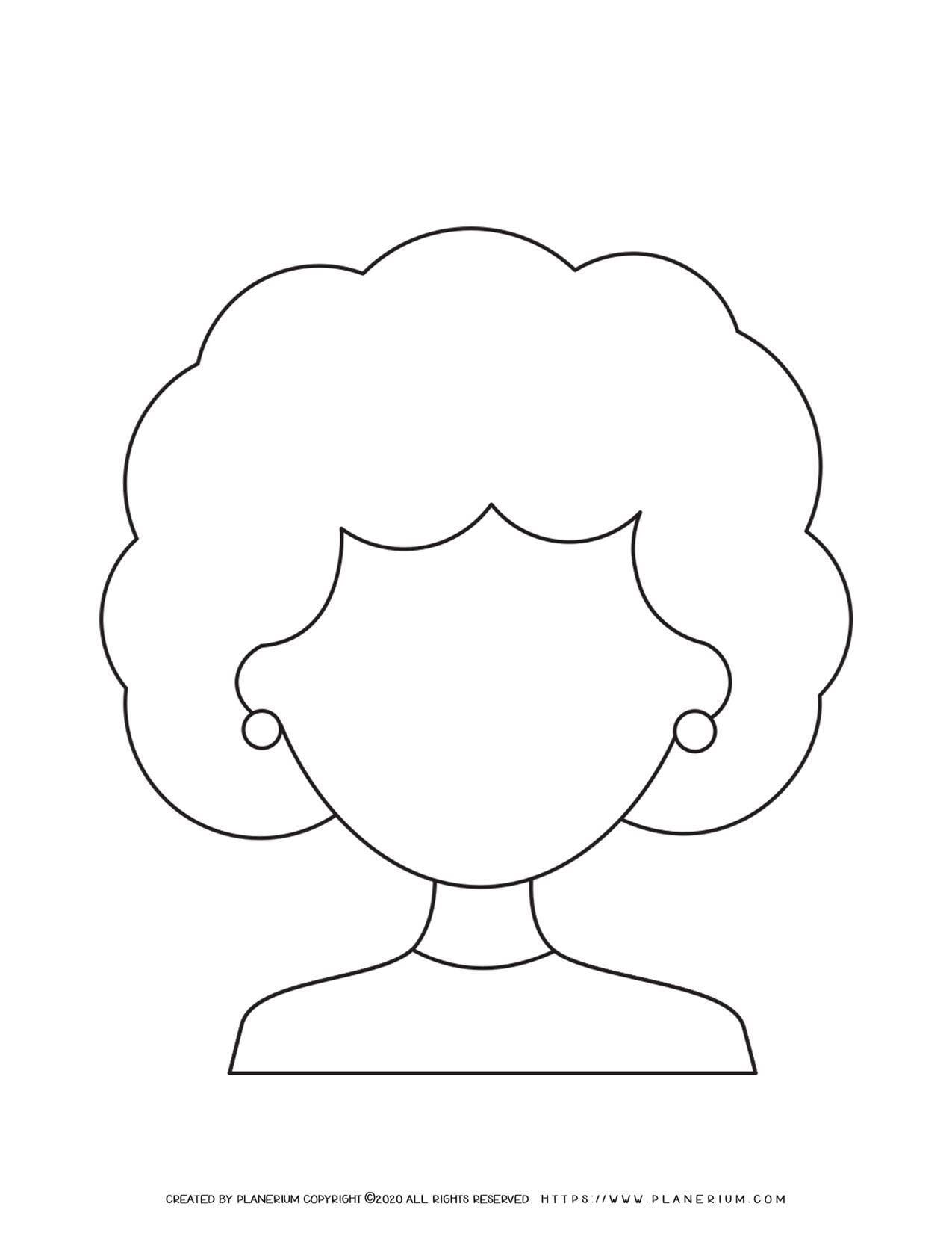 Woman Face Outline | Planerium