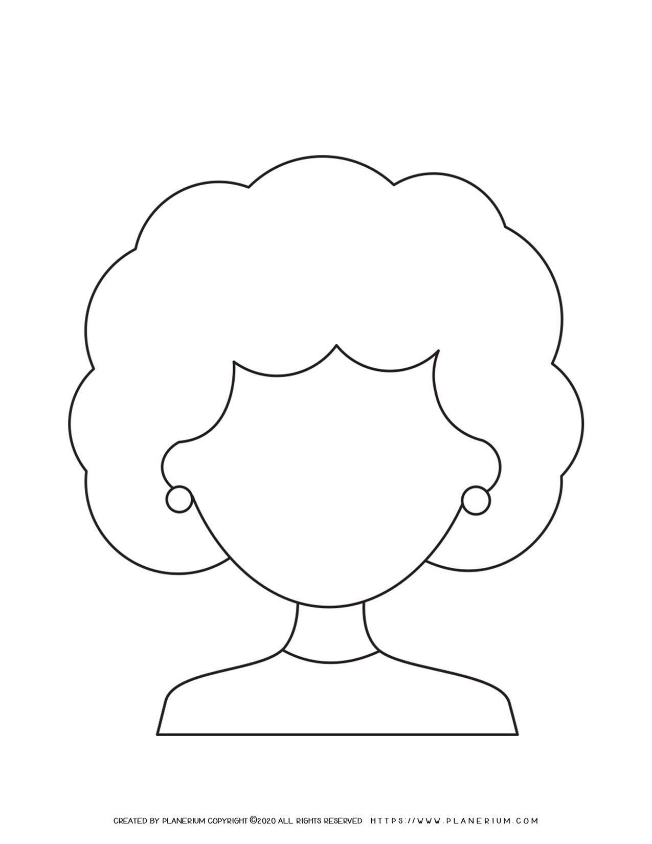 Woman Face Outline   Planerium