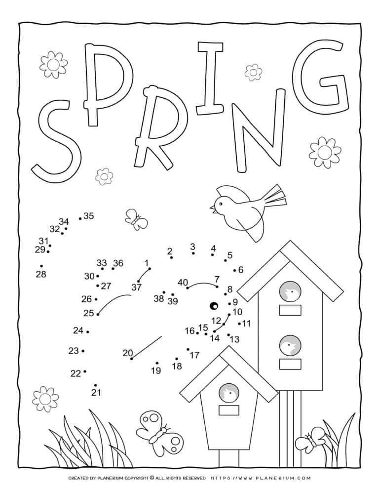Spring - Connect The Dots | Planerium