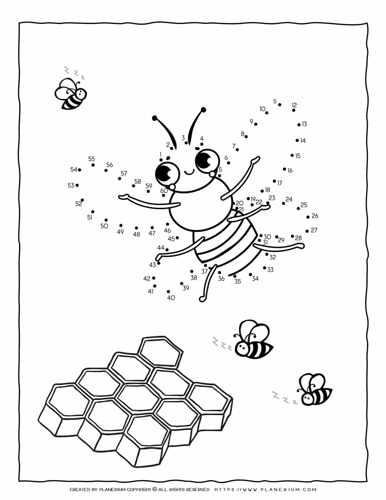 Bee Connect The Dots | Planerium