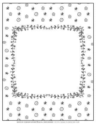 Flowers Frame | Planerium