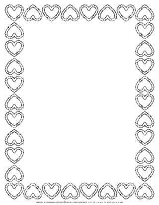 Heart Snow Frame | Planerium