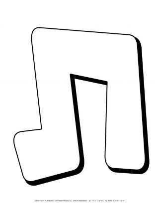 Hebrew Alphabet - Tav - Coloring Page | Planerium