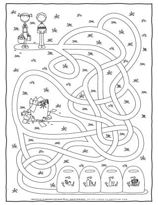 Maze Game - Recycling | Planerium
