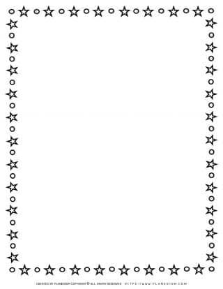 Stars Outline Frame | Planerium