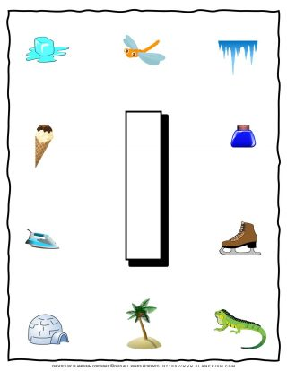 English Alphabet - Objects that starts with I | Planerium