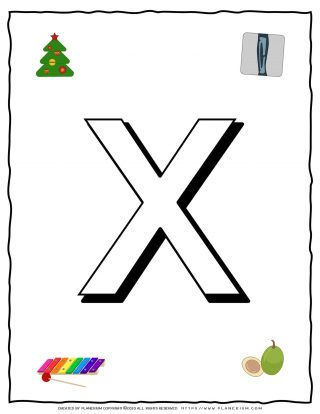 English Alphabet - Objects that starts with X | Planerium