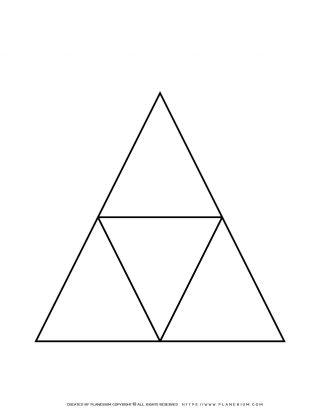 Graphic Organizer - Triangle Diagram | Planerium