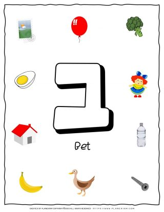 Hebrew Alphabet - Objects That Starts With Letter Bet | Planerium