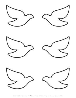 Six Birds Template | Planerium