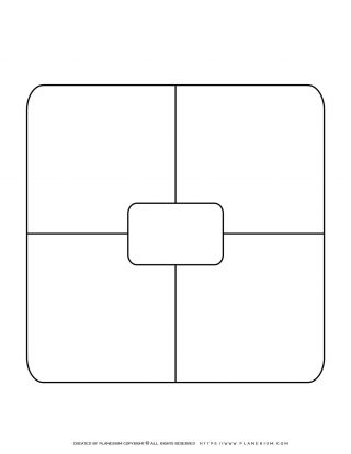 Story Map Template - Center Rectangle | Planerium