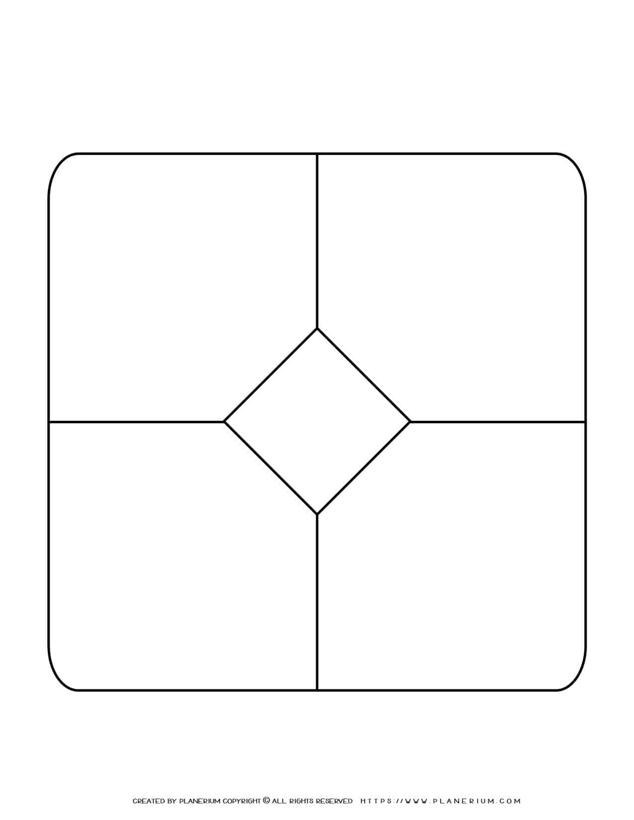 Story Map Template - Center Rhombus   Planerium