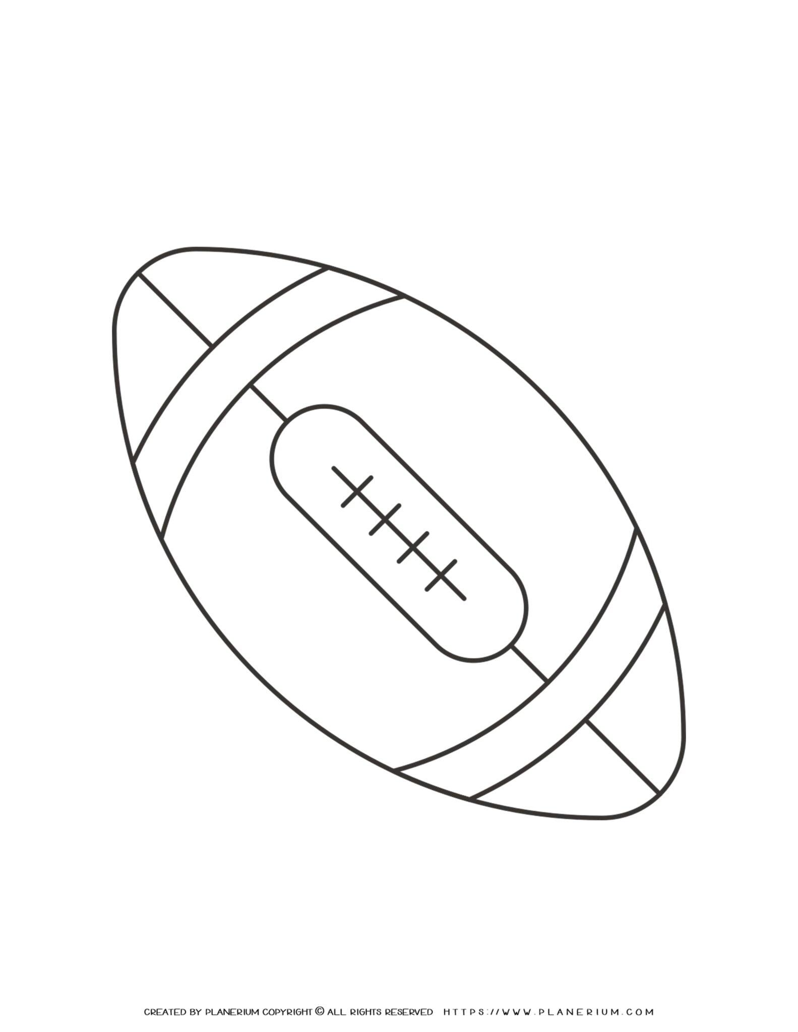 Sport Template - American Football   Planerium