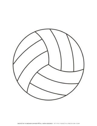 Sport Template - Volleyball | Planerium