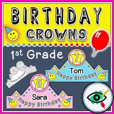 birthday-crowns-first-grade-title