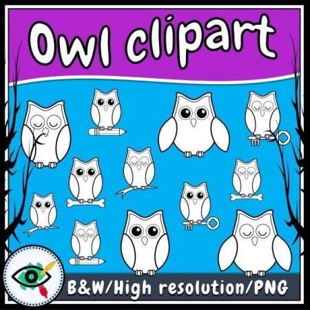 owl-clipart-title