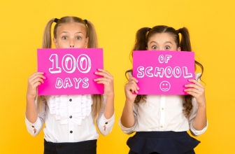 100 Days of School – Coloring Pages and Worksheets