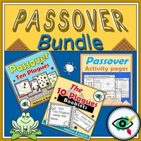 Passover – Worksheets Booklet Posters Bundle