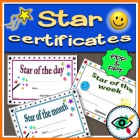 Certificates – Star Rewarding