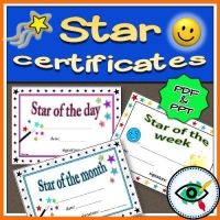 Certificates – Star Rewarding