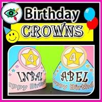 Birthday – Craft – Crowns and Bracelets