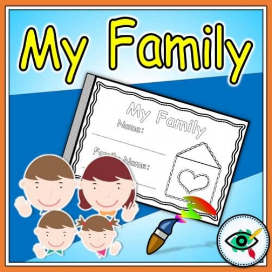 booklet-my-family-grade1-2-title