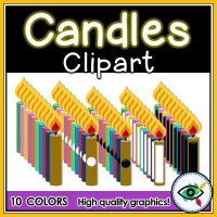 Candles Clipart – Collection