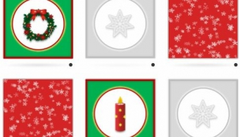Christmas Online Matching pairs Memory Games
