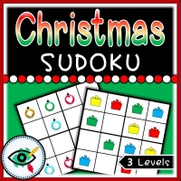 Christmas – Sudoku – Gifts and Lights