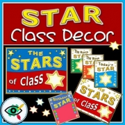 Class Decoration set – Star of the Class