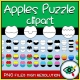 Apple Puzzle Clipart