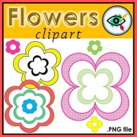 Clipart Flowers – Creative work