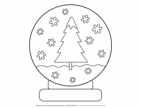 Winter season – Coloring pages – Snowflex Ball