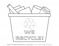 Earth day – We Recycle