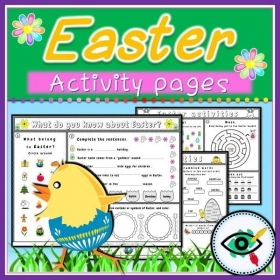 Easter – Worksheets – Activities for grades 1-3