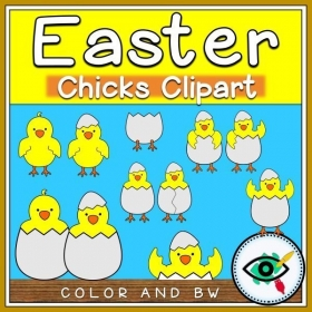 Easter – Clipart – Chicks