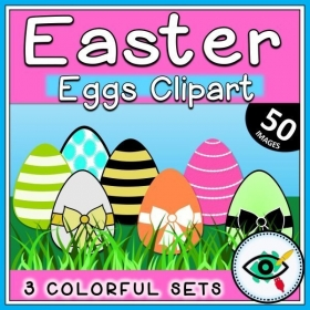 Easter Eggs – Clipart