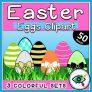 Easter Eggs – Clipart